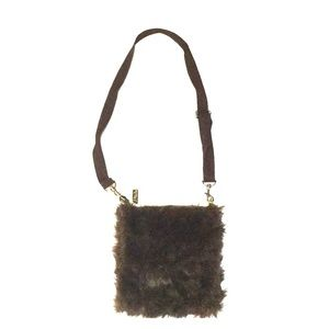Faux Fur Mini Crossbody Bag